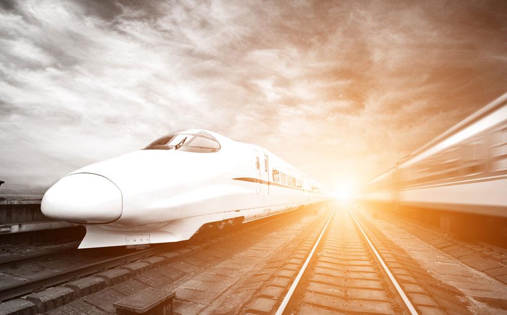 Advanced-Tech-Bullet-train