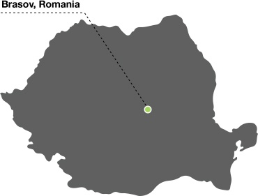 brasov-romania-map