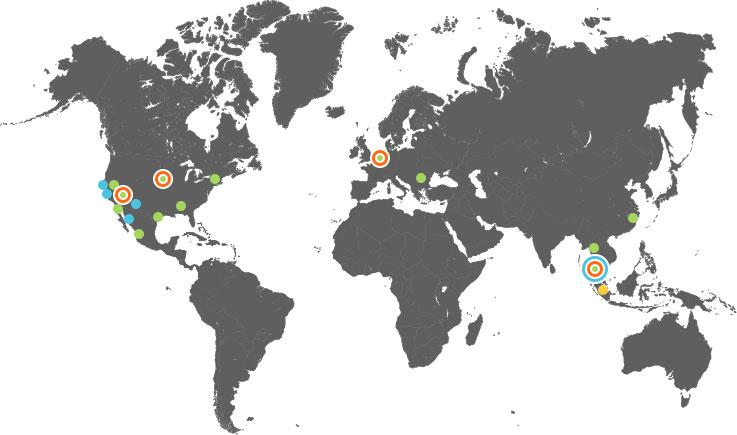 Worldwide Locations