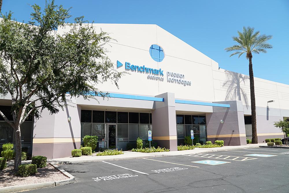 Benchmark Tempe Arizona