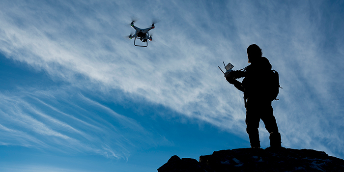 The Evolving Role of Drones in the Connected Battlespace