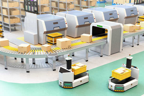 Robotic-Warehouse-concept